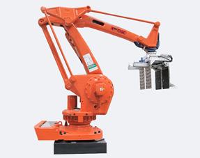 箱装产品机器人码垛机